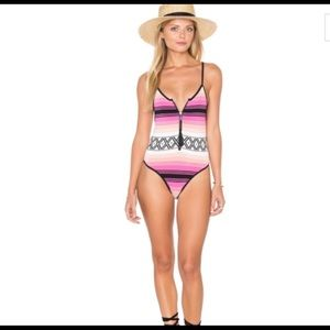Lovers + Friends Navajo Knit Desert Melody suit XS